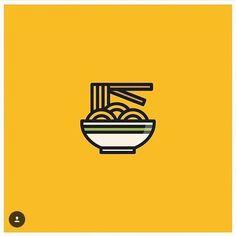 Web Design Icon, Web Design Tips, Logo Restaurant, Restaurant Design, Logos, Logo Branding, Food Icons, Japanese Graphic Design, Best Logo Design