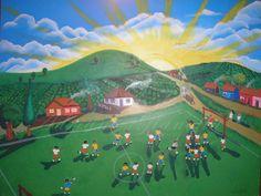 Pintura em parede - Naif - Votorantim SP.