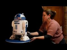 R2-D2 CAKE complete with step-by-step photos (and video). And yes, there's an optional sound module!