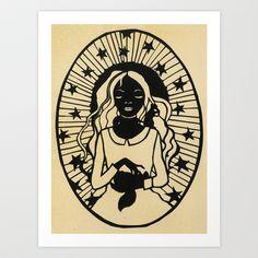 """""""Soothsayer"""" Art Print by Bean Cutter (Cindy Bean)"""