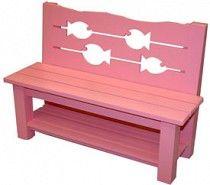 Fish Bench | TheStylishSea.com $677
