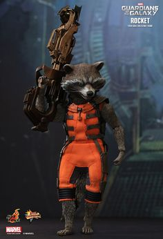 Hot Toys : Guardians of the Galaxy - Rocket 1/6th scale Collectible Figure