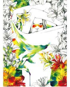 Las chicas 'tropicales' de Aki Miyajima