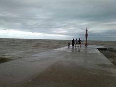 Riflessi di un grigio settembre al portocanale di Bellaria Igea Marina