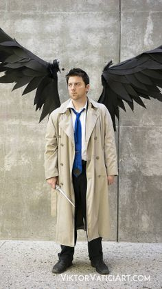 Awesome Castiel cosplay