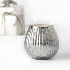 #whitechristmaswishlist Dome Tealight Holder - Small | Christmas | The White Company