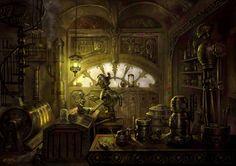 steampunk concept - Google 検索