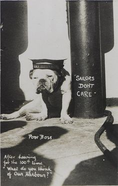 The mascot of HMS 'Renown' by National Maritime Museum, via Flickr