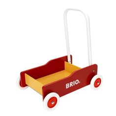 This BRIO Toddler Wobble Cart is a great little walker for your babies & toddlers! With this pushcart children can transport their favourite toys around. Wooden Toys For Toddlers, Toddler Toys, Camping Toys, Puzzle Storage, Floor Puzzle, Desk And Chair Set, Brio, Wishes For Baby, Gross Motor Skills