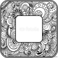 Vector: Abstract graphic vector ethnic pattern's border.
