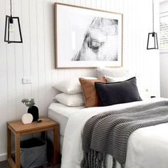 Cool 50 modern farmhouse bedroom decor ideas will make you beautiful in 2019 . - 2019 decoration - Cool 50 modern farmhouse bedroom decor ideas will make you beautiful in 2019 … -