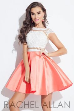 Mikado skirt with an illusion two-piece with matted stones. Order today by calling Everything for Pageants at 1-815-782-8877 and ask for our current promotions.