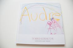 """Audrey's art in a photobook arrived yesterday. I ordered the 12×12 size and I love the scale of it – her drawings have a larger than life feel to them. I love that when Audrey opened the book, she said, """"WOAH."""" A few months ago Shutterfly asked if I'd be interested in creating a new …"""