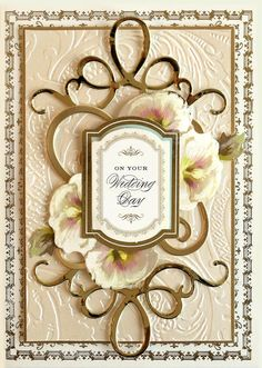Hello everyone, We are getting very excited for our upcoming shows on HSN January 8th. We know that you have your calendars marked for January 7th at 11pm and January 8th at 10am, 2pm and 9pm (plus more hours in between). Our Anna Griffin Elegant Papercrafting shows are sure to impress, and we have been … Wedding Cards Handmade, Handmade Birthday Cards, Greeting Cards Handmade, Decoupage, Diy Wedding Reception, Spellbinders Cards, Anna Griffin Cards, Wedding Anniversary Cards, Happy Anniversary