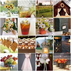 This.  All of this.  Rustic Wedding