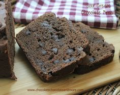 Sour Cream Chocolate Bread - Chocolate Chocolate and More!