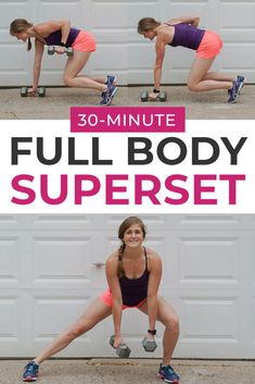 30-Minute Dumbbell HIIT Workout (8 HIIT Exercises) | Nourish Move Love