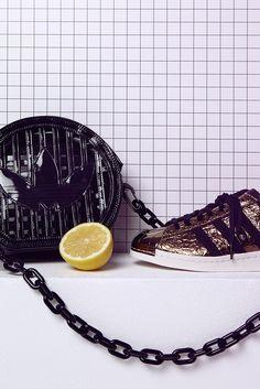 Adidas Superstar & Jeremy Scott Bag // by Fanny Böhme
