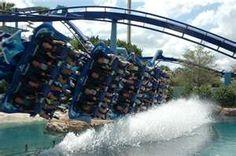 Manta coaster @ SeaWorld Orlando...MUST ride front row!