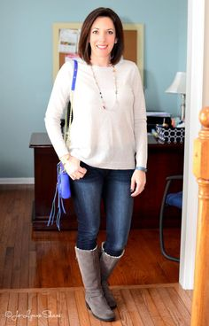 fashion over 40: casual winter outfit and more wearable outfit ideas for moms