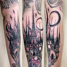 ⚡Cathedral / Blast Over⚡- #tattoo #tattoos #tatouage #flash #tattooflash #blast #blastover #blastovertattoo #black #blackwork #blackink #blacktattoo #cathedral #cathedraltattoo #blackmoon #moon #tower #dark #church #burningchurch #fire #fuckyourfaith #satan #labarbetattoo #mudtattoo #stayawake #nantes Love Tattoos, Black Tattoos, Body Art Tattoos, Scar Tattoo, Epic Tattoo, Blast Over Tattoo, Cathedral Tattoo, Interesting Tattoos, Battle Scars