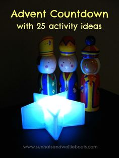Advent Countdown - Follow the Star! An interactive Advent Countdown which Includes 25 Activity Ideas