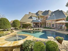 Luxury pool- 2106 Conner Lane Colleyville 76034, Briggs Freeman Sotheby's luxury home for sale in Dallas Fort Worth