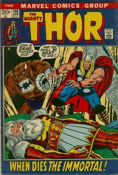 Thor #198. Mangog is back. #Thor #Mangog