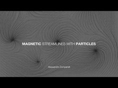 Creating streamlines in Blender using Hair Particles System. In this particular tutorial I used the Fracture Modifier Branch in order to create the final iso. Blender Tutorial, 3d Tutorial, Blender 3d, Motion Design, Game Design, Magnets, 3d Modeling, Digital Art, Tutorials
