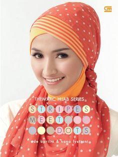 Thematic Hijab Series: Stripes Meet Dots by Ade Aprilia