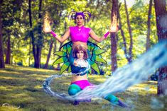 Irma and Taranee - W.I.T.C.H. Cosplay by mirella91 Diy Costumes, Costume Ideas, Cosplay Costumes, Awesome Cosplay, Best Cosplay, Witch Serie, Magazine Format, Witch Cosplay, Cosplay Tutorial