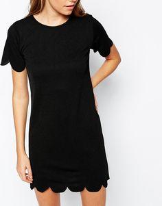 Image 3 ofDaisy Street Scallop Dress