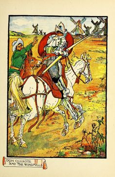 Don Quixote of the Mancha / retold by Judge Parry ; illustrated by Walter Crane.1920