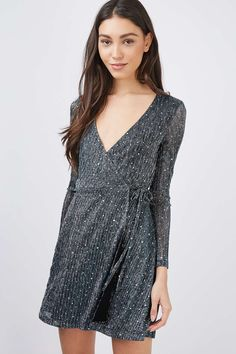 Bling Wrap Plisse Dress - New In This Week - New In - Topshop Europe