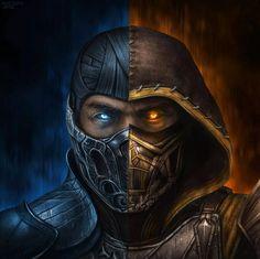Escorpion Mortal Kombat, Mortal Kombat Tattoo, Mortal Kombat X Scorpion, Game Character Design, Character Art, Mortal Kombat X Wallpapers, Dark Art Tattoo, Hp Tattoo, Kratos God Of War