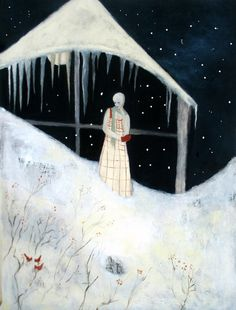 Drift  A GICLEE PRINT from an original painting by EverywomanArt, $20.00 Jeanie Tomanek