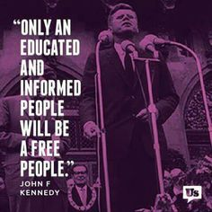 JFK Words Of Wisdom