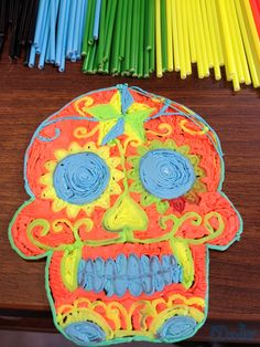 The possibilities of what you can make are endless! A skull doesn't look so scary when you can put it in colour!  http://www.the3doodler.com/preorder-3doodler/  What would you create with the 3Doodler?  #3DPen #3DPrinting #WhatWillYouCreate?