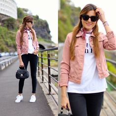 Get this look: http://lb.nu/look/8190943 More looks by Marianela Yanes: http://lb.nu/marilynscloset Items in this look: Mango Jacket, Adidas Superstar Snekaers, Zara Jeans #casual #chic #sporty