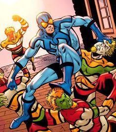 Blue Beetle - Google Search Dc Heroes, Comic Book Heroes, Charlton Comics, Blue Beetle, Dc Comics Superheroes, Comics Universe, Book Images, Dark Horse, Justice League
