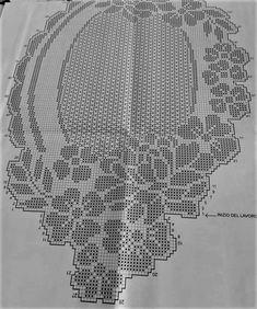 Hand made crochet table runner Crochet Table Runner Pattern, Free Crochet Doily Patterns, Filet Crochet Charts, Crochet Tablecloth, Crochet Motif, Crochet Lace, Crochet Stitches, Stitch Patterns, Diy Crafts Crochet