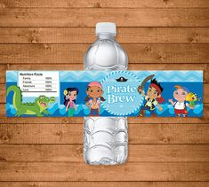 Jake and the Neverland Pirates Water Bottles by NineLivesNotEnough