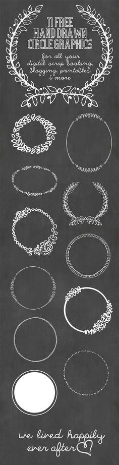 Ideas para dibujar con rotulador blanco en cristal o pizarra