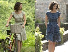 Картинки по запросу charlotte le bon dresses in 100 foot journey