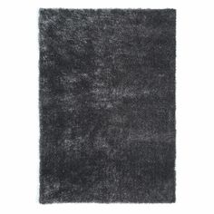 Grijs LUMIERE stoffen tapijt 200 x 140 cm