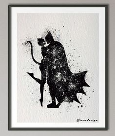 Batman and Catwoman Watercolor Canvas Poster     Tag a friend who would love this!     FREE Shipping Worldwide     We accept PayPal and Credit Cards.    Buy one here---> https://ibatcaves.com/batman-and-catwoman-watercolor-canvas-poster/