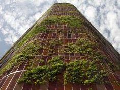 Une tour verte a poussé à Singapour