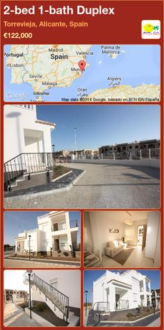 2-bed 1-bath Duplex for Sale in Torrevieja, Alicante, Spain ►€122,000