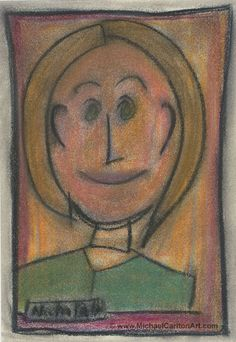 """Pastel piece from 2010 - """"Pretty Polly"""" Mona Lisa, 10 Years, Pastels, Pretty, Artist, Artwork, Painting, Work Of Art, Auguste Rodin Artwork"""