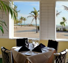 Dining At Traditions On The Beach